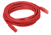 Patchcord UTP cat.5e, 5m RED