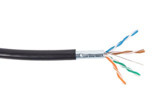 Cable SecurityNET FTP kat. 5e outdoor, without gel,  305m