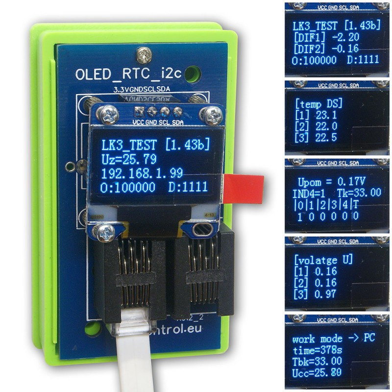 MODUL LK3 OLED/RTC/I2C Blue Expansion