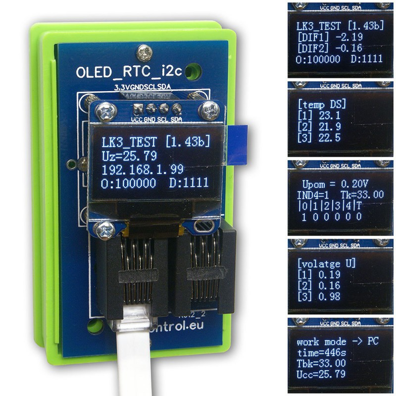 MODUL LK3 OLED/RTC/I2C White Expansion