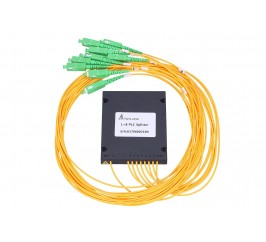 1:8 PLC SPLITTER ABS MODULE 2.0MM 1.5M SC/APC