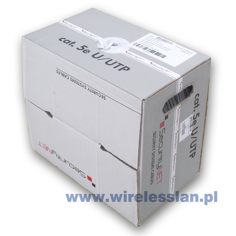 SecurityNET UTP cat.5 outdoor cable 305m
