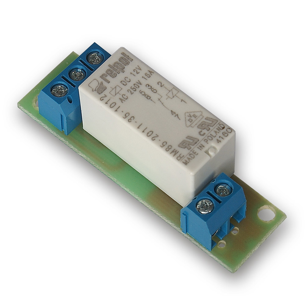 Relay board to the controller GSM v2/LAN Controller 12V
